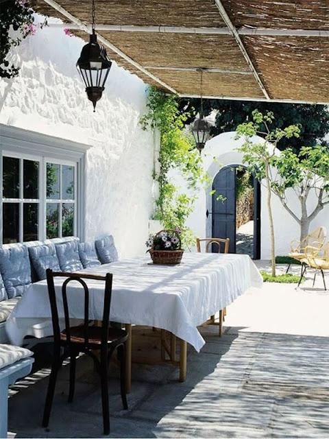 Ideas To Create a Mediterranean Terrace 10