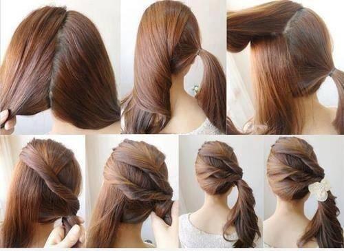 10 peinados fáciles y rápidos para cabello corto o largo! YouTube