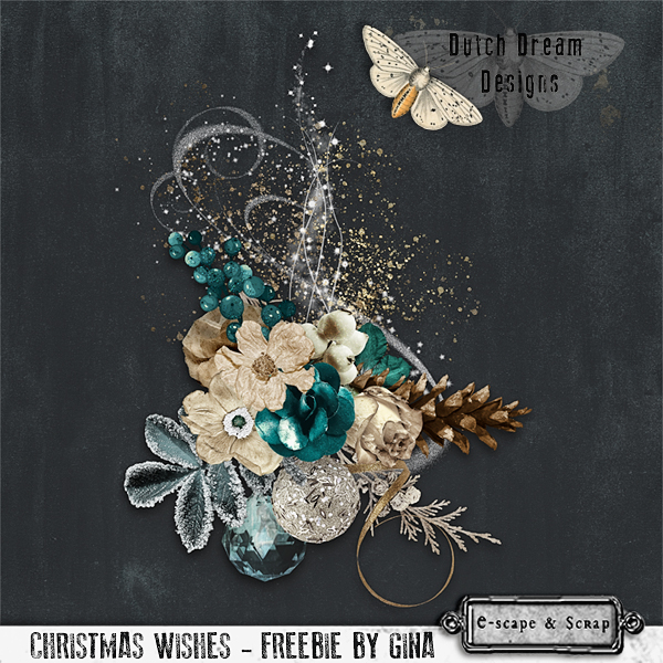 FREEbie CLUSTER FOR YOU by DUTCH DREAM DESIGNS