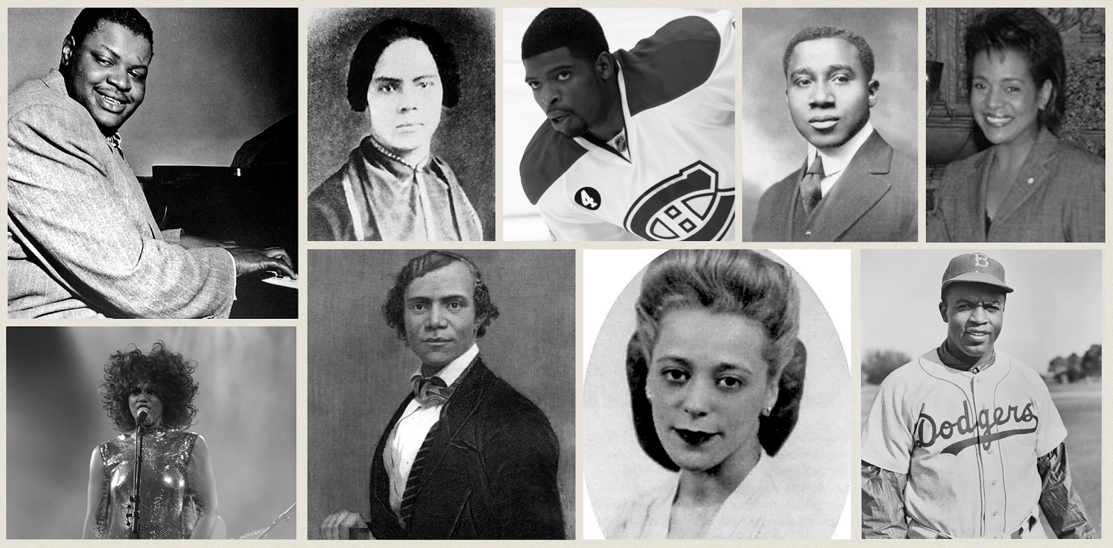 NAMC montessori black history month prominent canadians