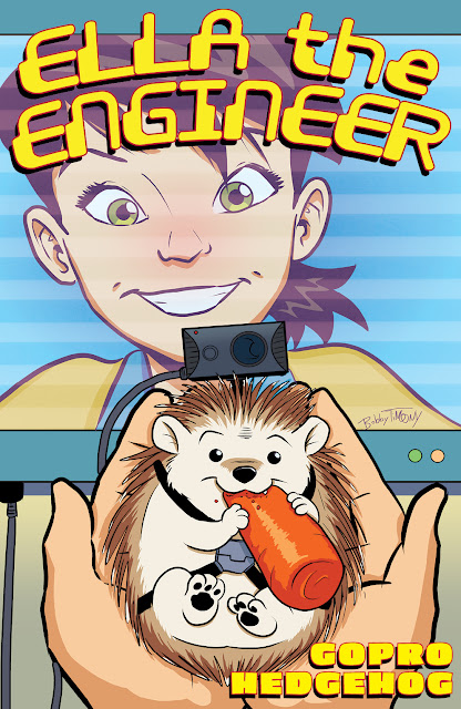 The inaugural Ella the Engineer comic book issue in collaboration with Deloitte features Janet Foutty, chair and CEO, Deloitte Consulting, helping Ella recover the class pet by applying analytical problem solving skills supported by technology.