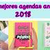 7 Agendas anuales para el 2018 bonitas y femeninas para mujeres