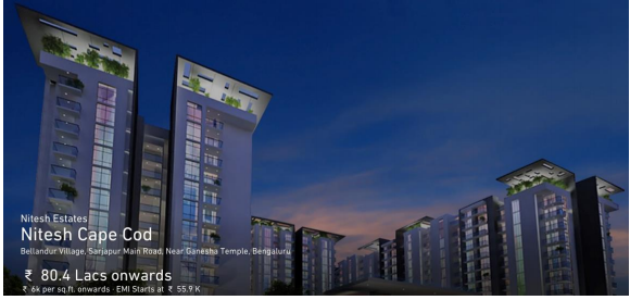 Stylish Green and Stunning Apartments In Famous Garden City