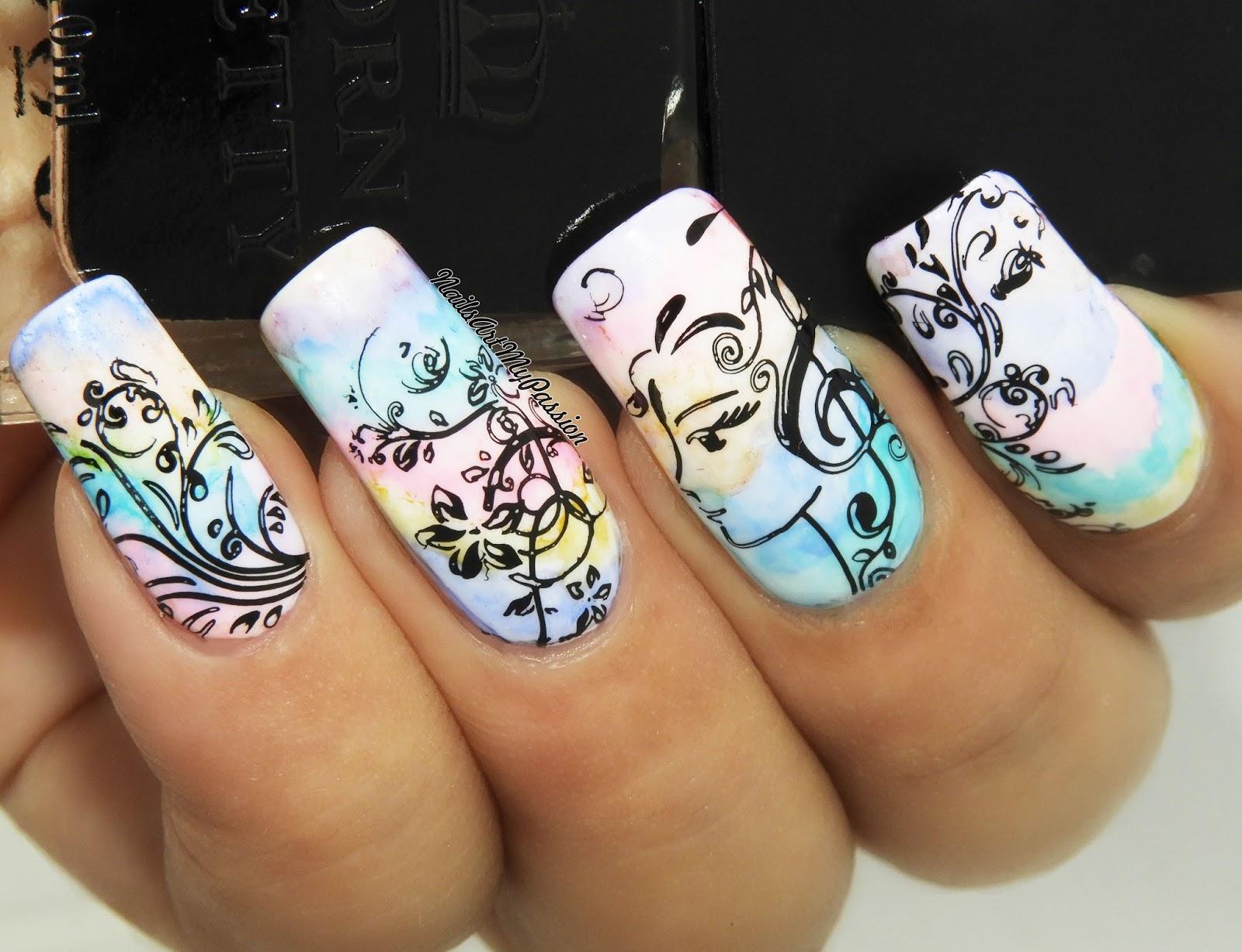 Nail Art My Passion: DIY Swirly nails with BP-X43 ||BORN PRETTY ...