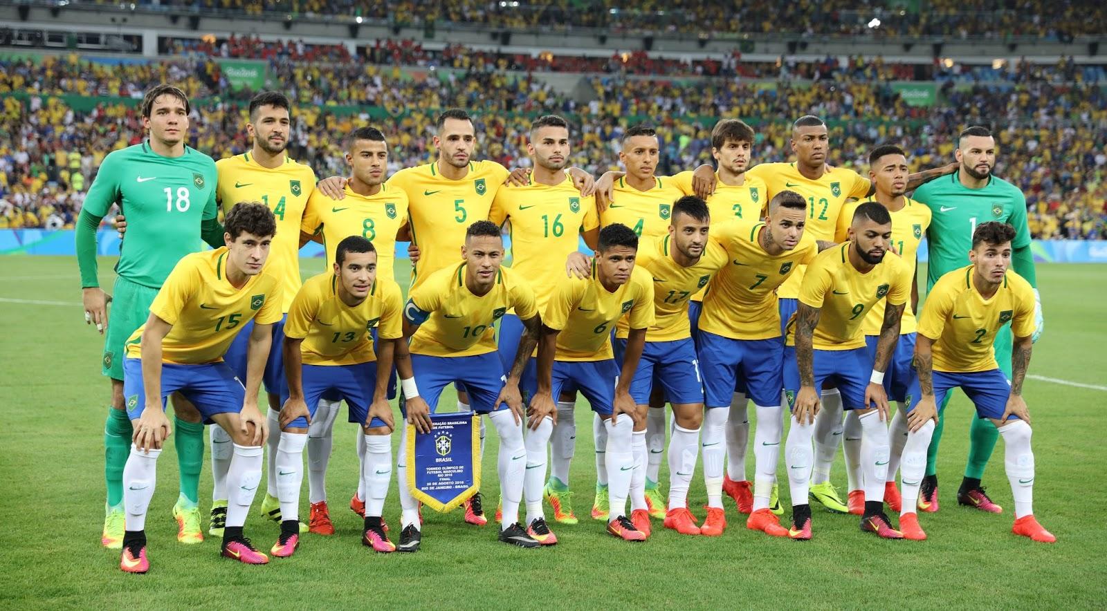 5b5c6d1936 A seleção brasileira de futebol é campeã olímpica dos Jogos Rio 2016. O ouro  foi conquistado nos penalties