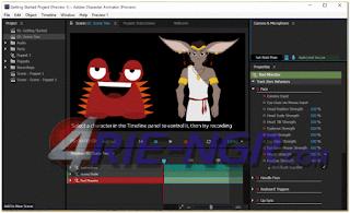 Adobe Character Animator CC 2017 1.0.5.141 Terbaru