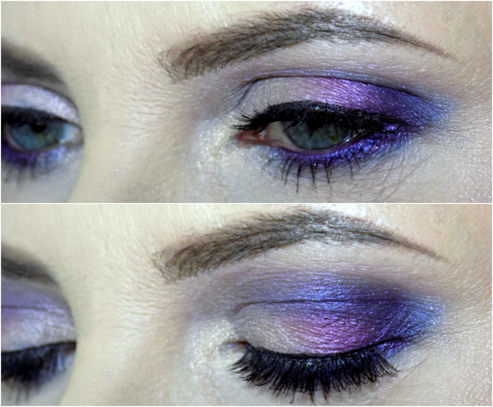 Makeup look using Urban Decay Vice 4 palette