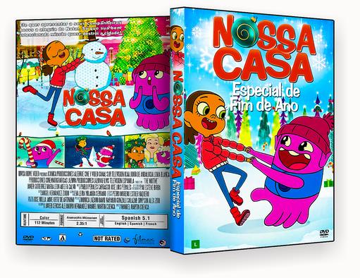 CAPA DVD – Nossa Casa Especial De Fim De Ano DVD-R