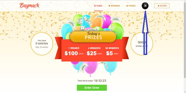 cara masuk di situs baymack penghasil dollar gratis