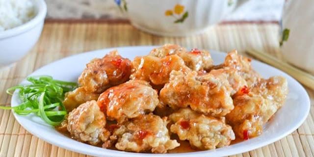 Ayam Goreng Madu Pedas Manis