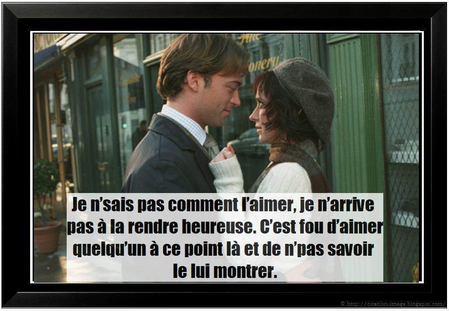 Citation film Si seulement en image ~ Citation en image : photo ...