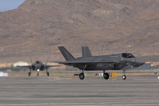 F-35B and F-35A Red Flag