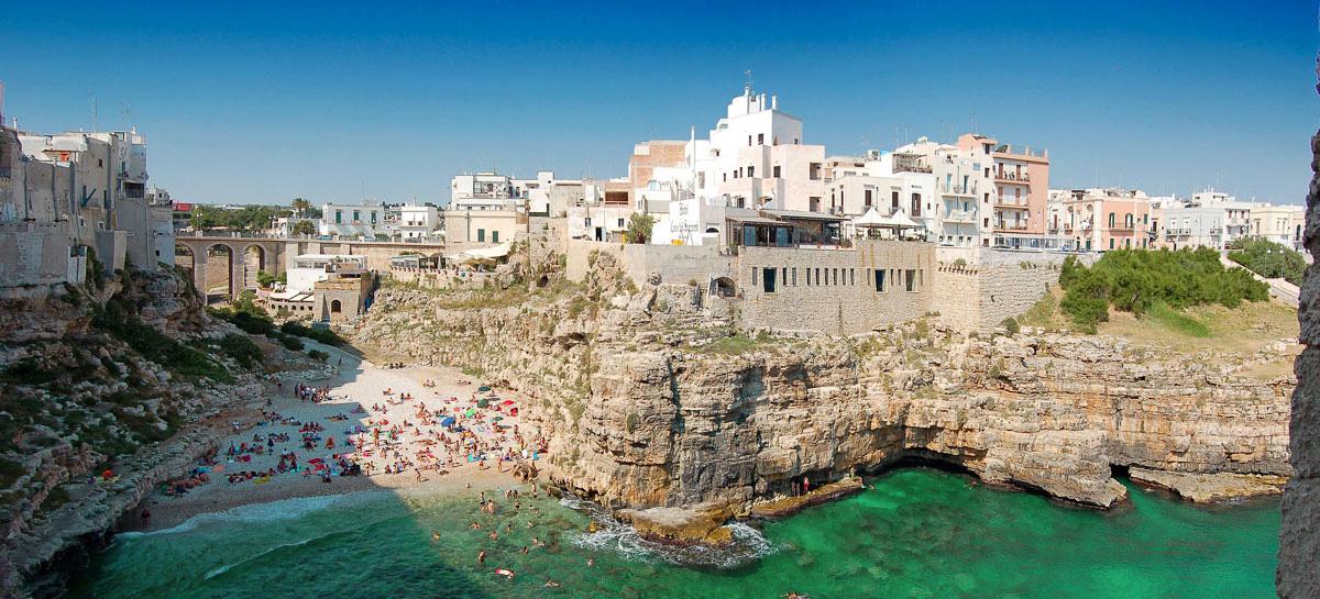 Polignano a Mare Italy Beautiful Coastal Village