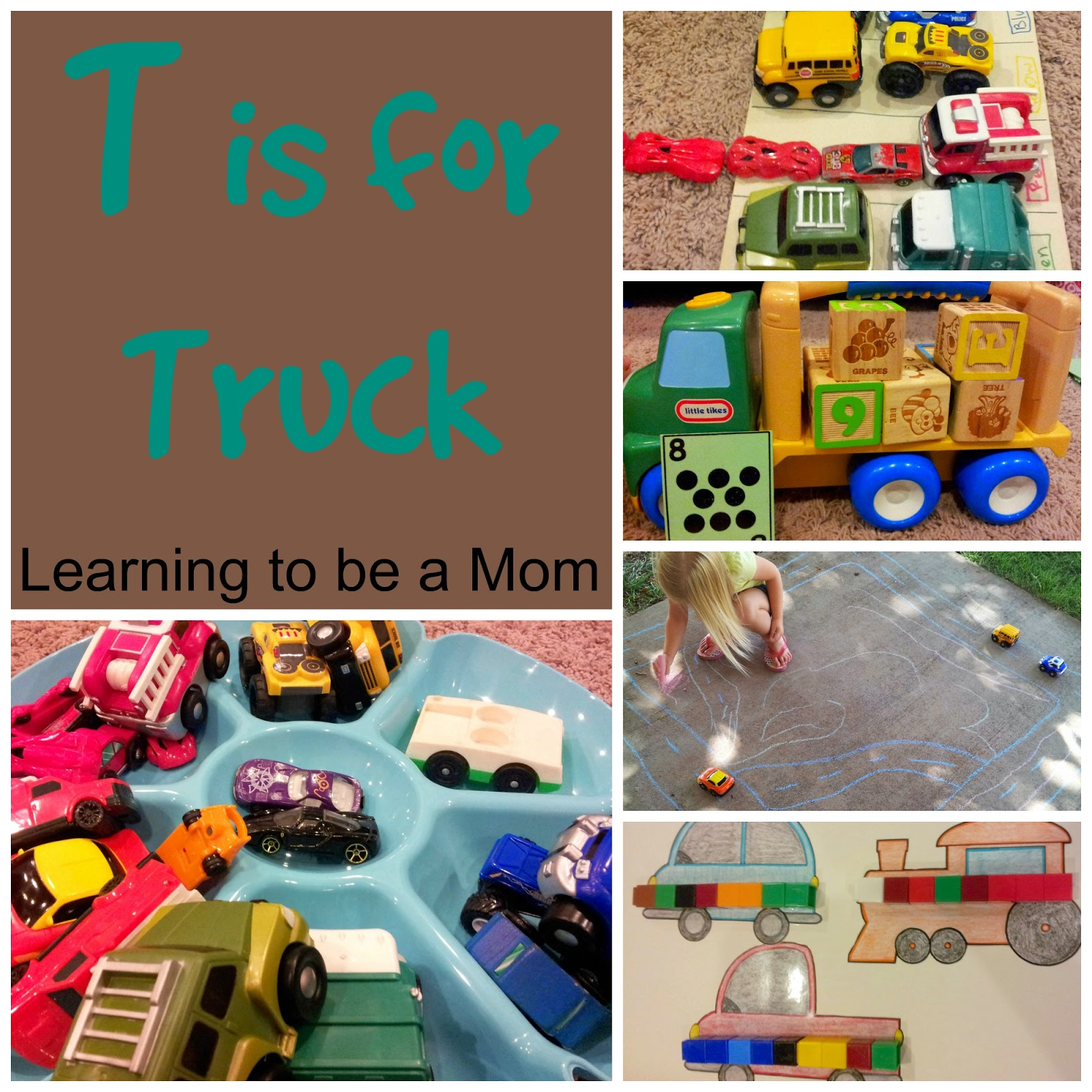 T Is For Truck Preschool Unit