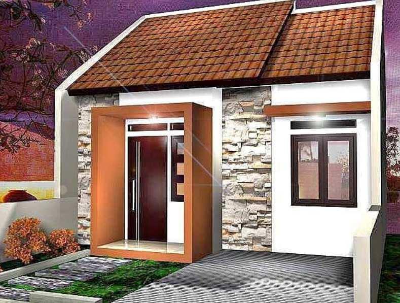 Gambar desain tampak depan rumah konsep minimalis
