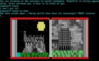 The Secret of Castle Lockemoer - Aventura conversacional