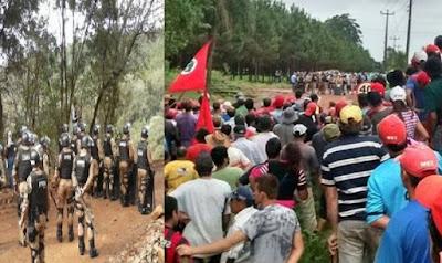Emboscada do MST contra a polícia deixa invasores mortos e feridos no sudoeste do PR