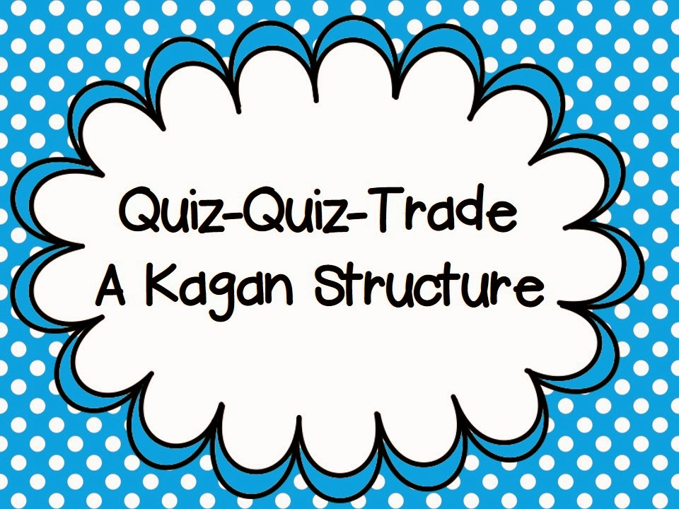 Classroom Grouping Ideas ~ The resourceful apple quiz trade a kagan structure