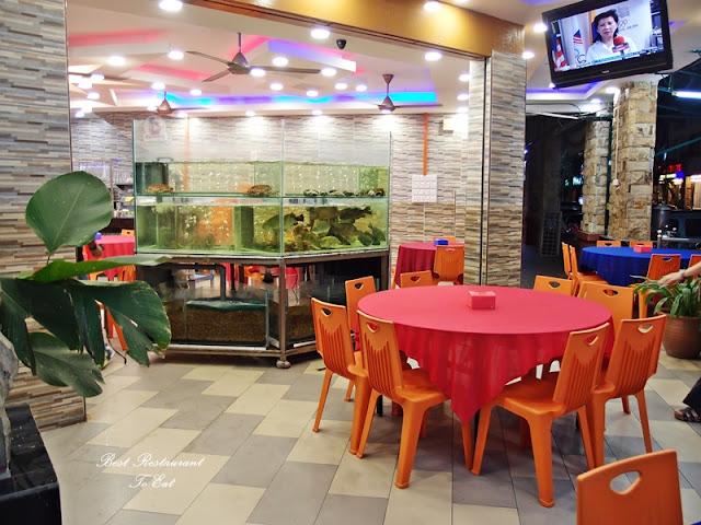 Ibrahims Fatty Crab Restoran Ampang Jaya Live Fish Tank
