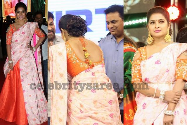 Madhumita at Vinaya Vidheya Rama Pre Release
