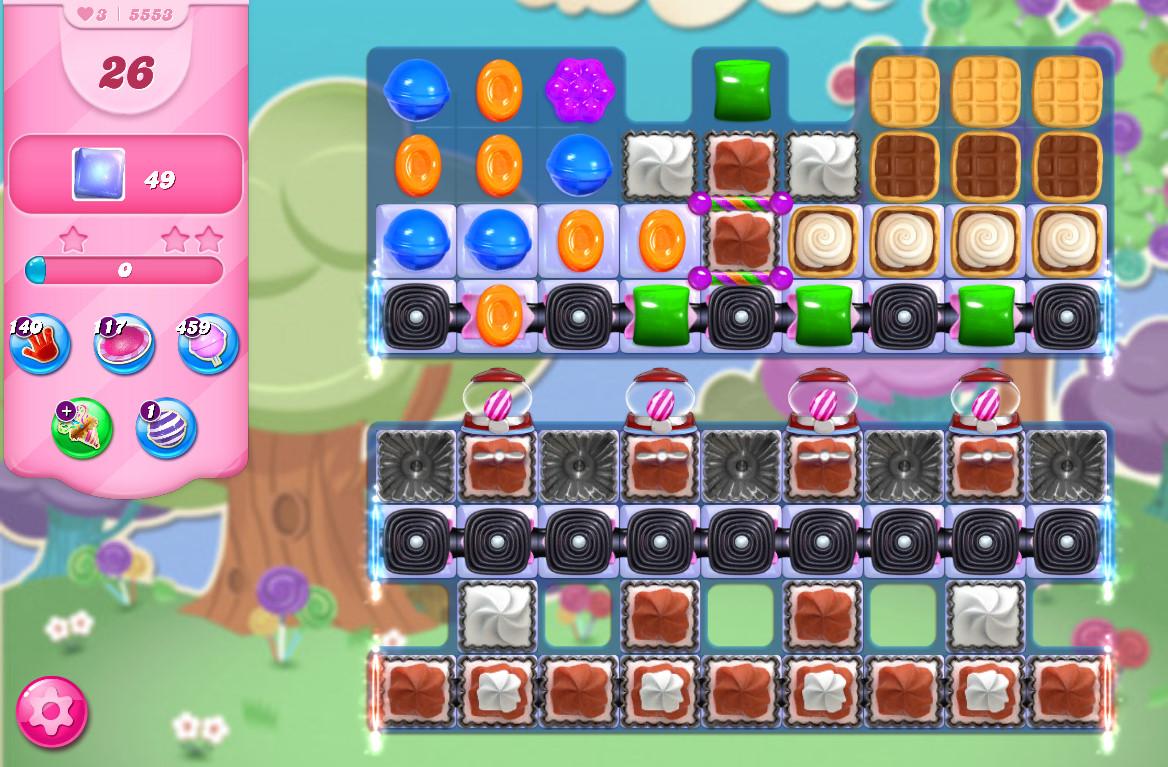 Candy Crush Saga level 5553