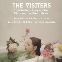 Concierto de The Visiters en Delia Records