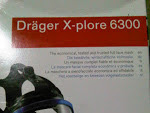 Full Face Respirator X-Plore 6300 DRAGER SAFETY