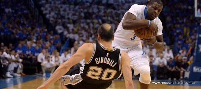 Ginóbili, clave en la victoria de los Spurs