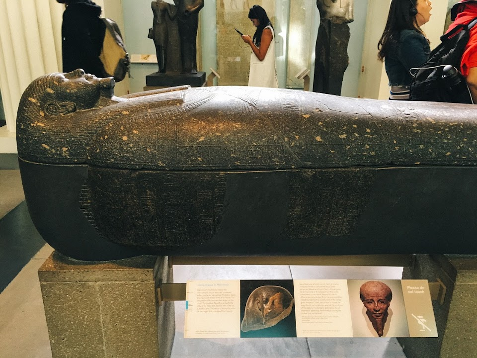 石棺(Sarcophagas of Merymose)