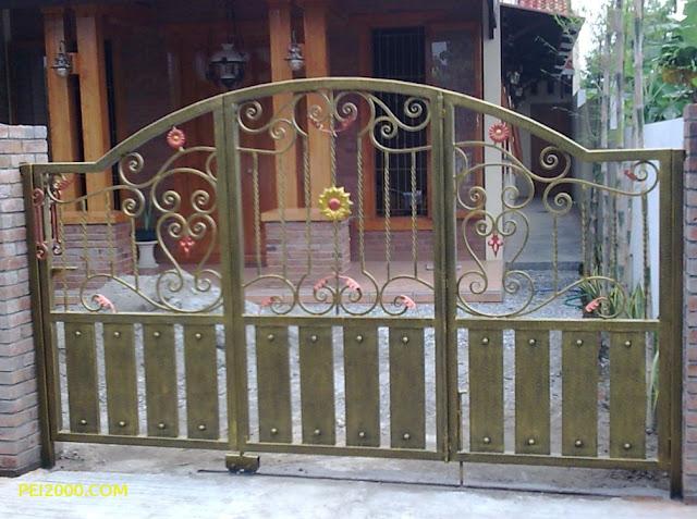 warna cat pagar besi minimalis terbaru