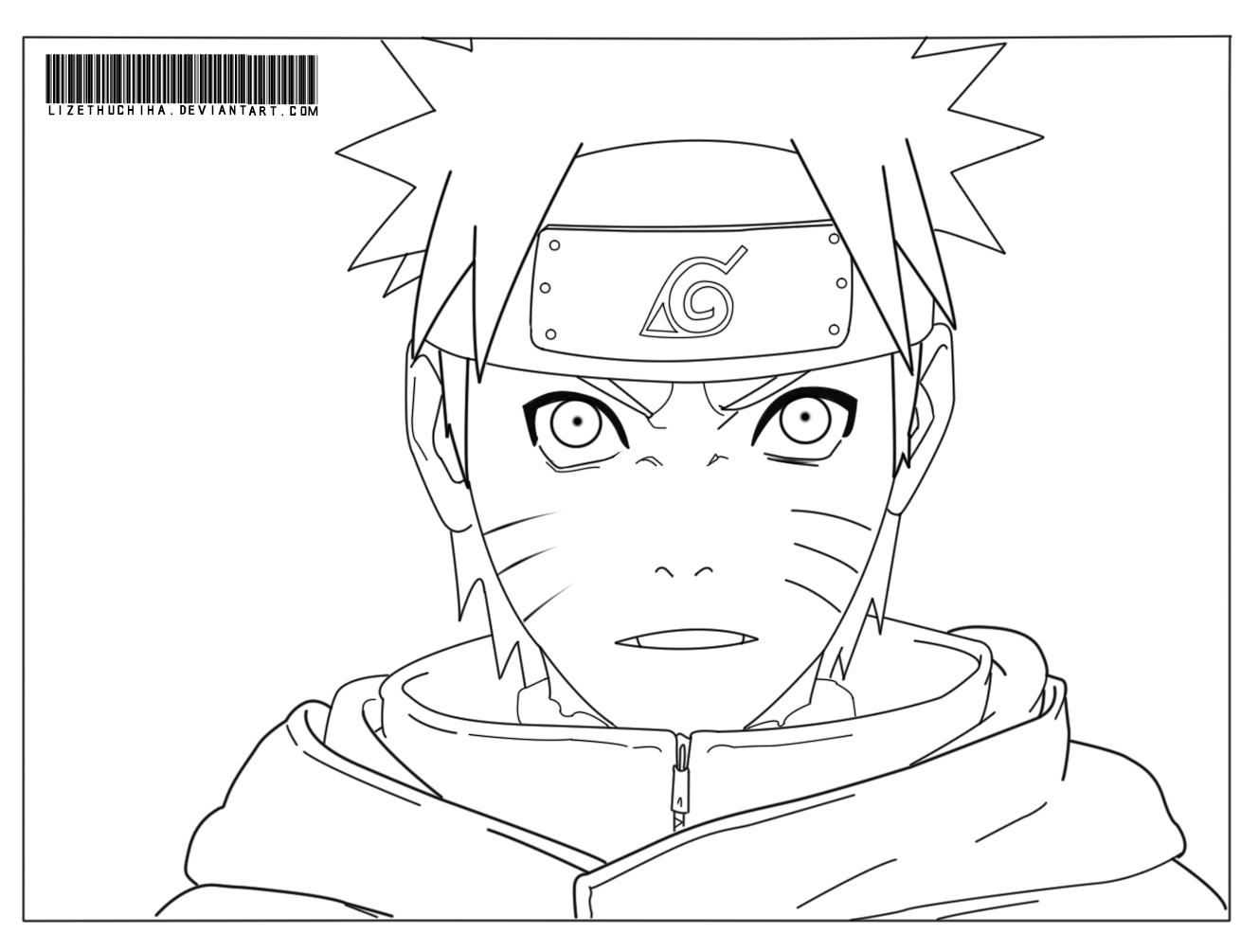 Desenhos Para Colorir Naruto Shippuden