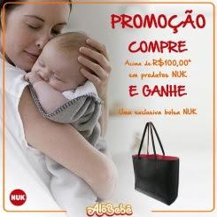 Promoção Alô Bebê 2018 Compre Ganhe Bolsa Nuk Exvlusiva