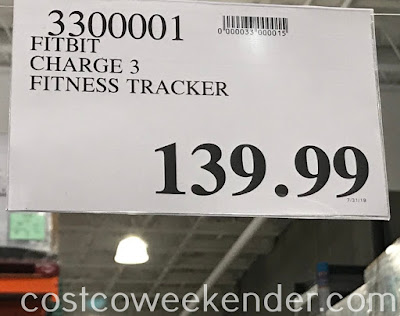 Deal for the Fitbit Charge 3 Advanced Fitness Tracker at Costco