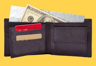 Как спрятать кошелек, кредитку