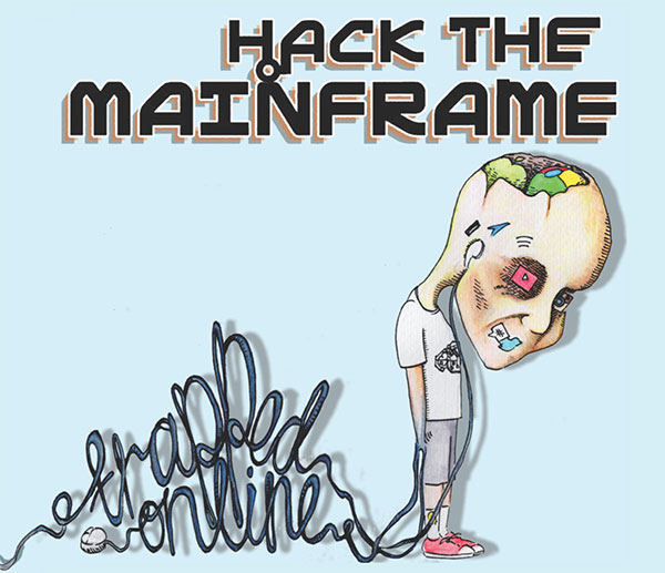 "Hack The Mainframe stream new EP ""Trapped Online"", release video for ""No Escape"""