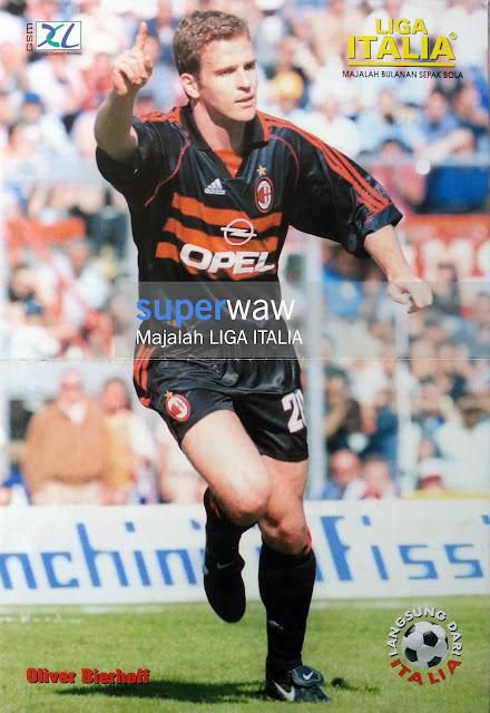 Poster Oliver Bierhoff AC Milan 1998