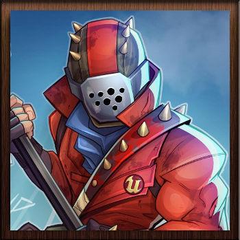 Fortnite Battle Royale Skin Rouge Pointes - Avatar en HD