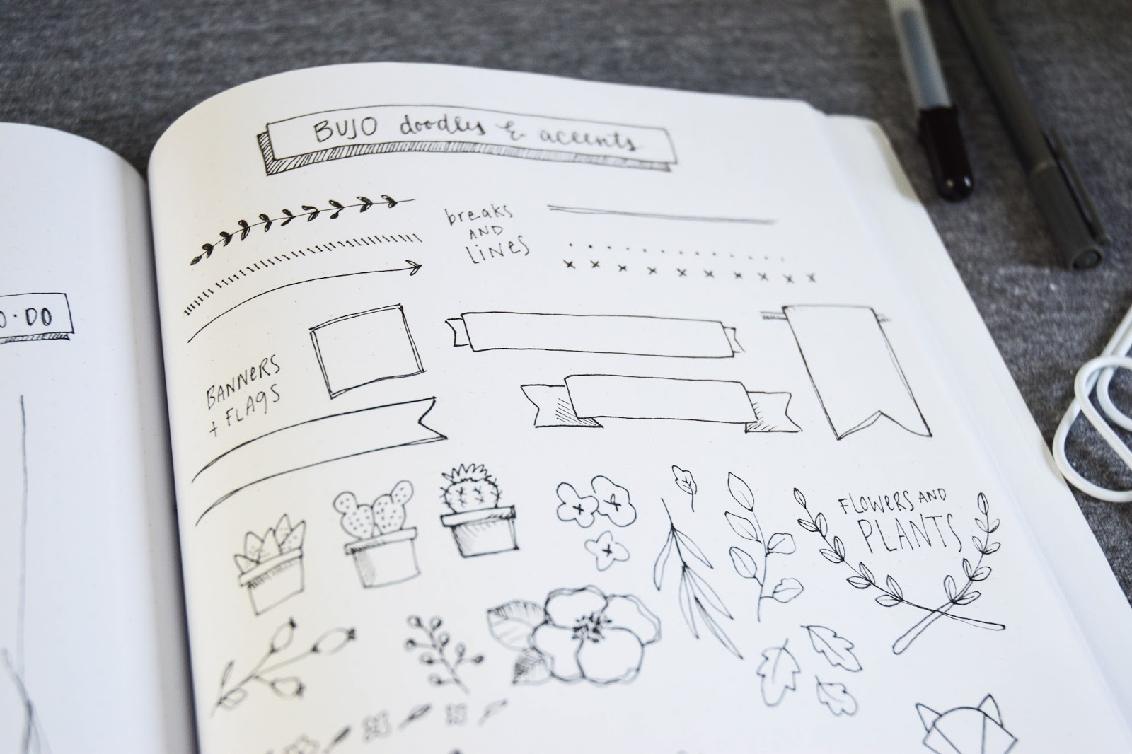 Shayda Campbell Bullet Journal Doodles