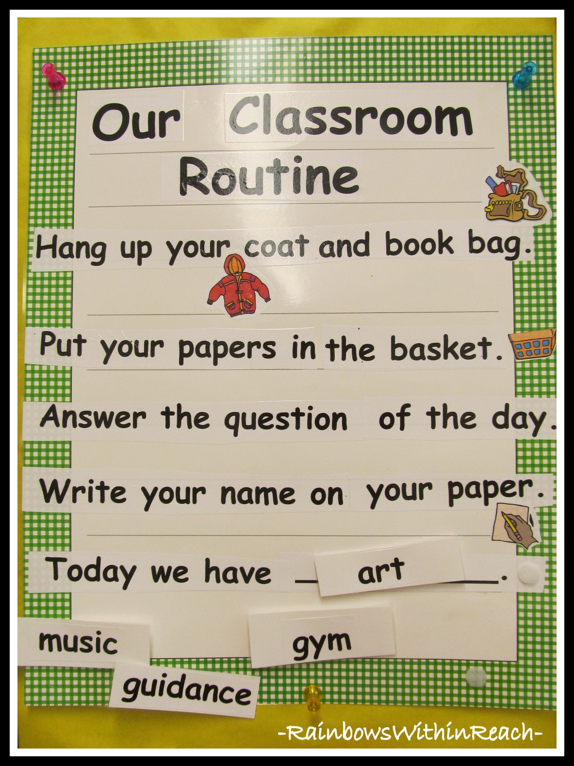 Starting The Day Routines At School Drseussprojects
