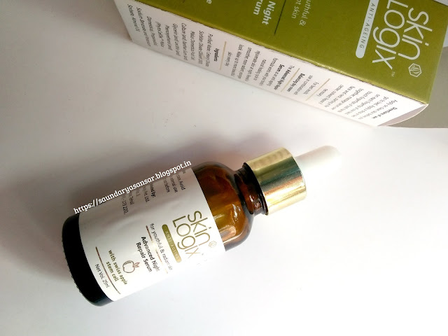 Richfeel Skin Logix Advanced Night Repair Serum Review