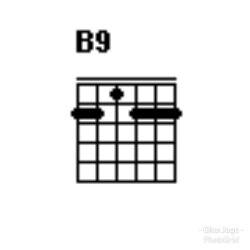 Chord gitar B9