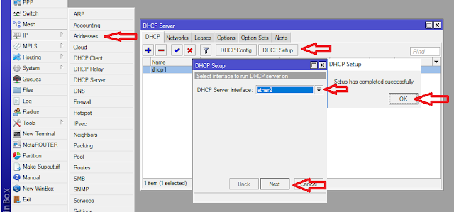 Membuat DHCP Client Dan DHCP Server - Cinta Networking
