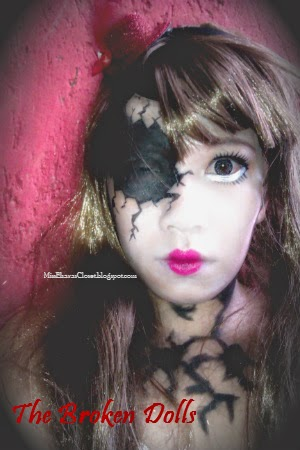 Halloween Makeup Inspiration: The Broken Dolls