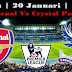 Agen Bola Terpercaya - Prediksi Arsenal vs Crystal Palace 20 Januari 2018