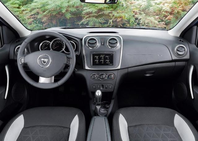 2013 Dacia Sandero Stepway Dashboard Interior