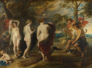 Le jugement de Pâris Peter Paul Rubens