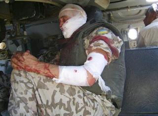 Ірак. Підрив водовоза, поранений водій