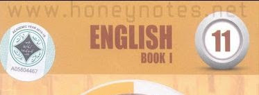 1st Year English Book