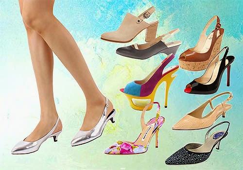Memilih Sepatu Wanita Model Sling Back