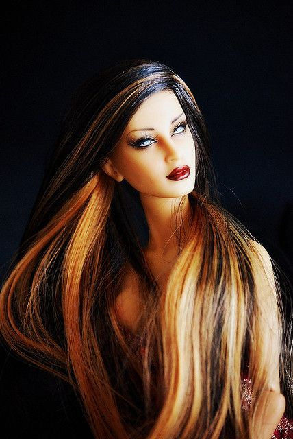 Barbie Hairstyles barbie hairstyles This Hairstyle Looks More Modern The Hightlight Can Be Applied To All Hair Styles Both Short And Long Hair This Hair Style Reflects The Personality Of An